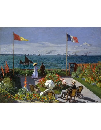 Garden at Sainte-Adresse