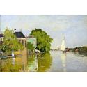 Reprodukcje obrazów Houses on the Achterzaan - Claude Monet