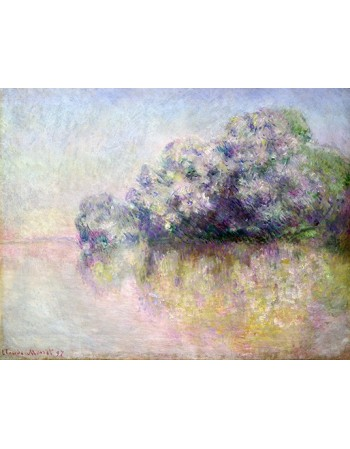 Reprodukcje obrazów Île aux Orties near Vernon - Claude Monet
