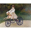 Reprodukcje obrazów Jean Monet on His Hobby Horse - Claude Monet