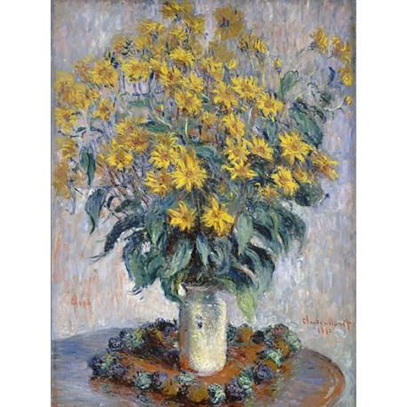 Jerusalem Artichoke Flowers