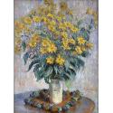 Reprodukcje obrazów Jerusalem Artichoke Flowers - Claude Monet