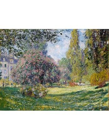 Reprodukcje obrazów Landscape The Parc Monceau - Claude Monet