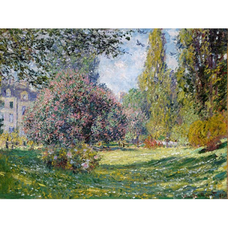 Landscape The Parc Monceau