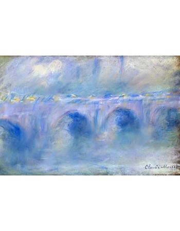 Reprodukcje obrazów Le Pont de Waterloo - Claude Monet