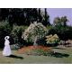 Monet Claude-Woman in the Garden. Sainte-Adresse
