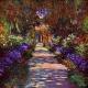 Path in Monets Garden