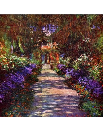 Path in Monets Garden
