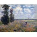 Reprodukcje obrazów Poppy Fields near Argenteuil - Claude Monet