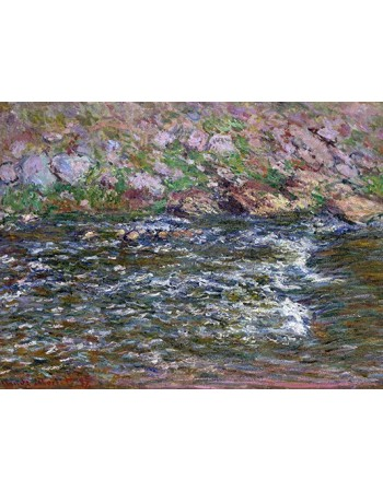 Reprodukcje obrazów Rapids on the Petite Creuse at Fresselines - Claude Monet