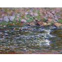 Rapids on the Petite Creuse at Fresselines