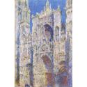 Reprodukcje obrazów Rouen Cathedral, West Façade, Sunlight - Claude Monet