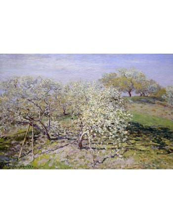 Reprodukcje obrazów Spring - Claude Monet