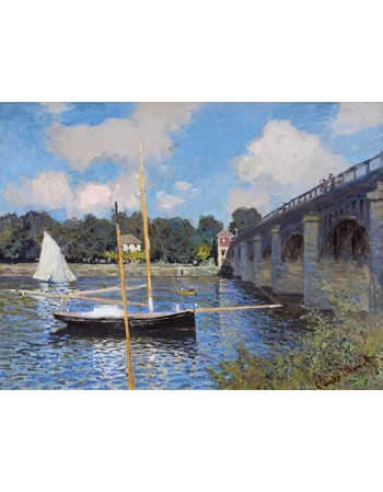 Reprodukcje obrazów The Bridge at Argenteuil - Claude Monet