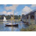 Reprodukcje obrazów The Bridge at Argenteuil - Claude Monet