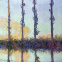 Reprodukcje obrazów The Four Trees - Claude Monet