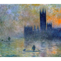 Reprodukcje obrazów The Houses of Parliament - Claude Monet