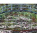 Reprodukcje obrazów The Japanese Footbridge - Claude Monet