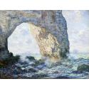 Reprodukcje obrazów The Manneporte - Claude Monet