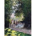 Reprodukcje obrazów The Parc Monceau - Claude Monet