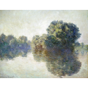 Reprodukcje obrazów The Seine at Giverny - Claude Monet