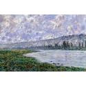 Reprodukcje obrazów The Seine at Vétheuil - Claude Monet