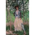 Reprodukcje obrazów The Stroller - Claude Monet