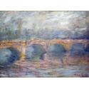 Reprodukcje obrazów Waterloo Bridge - Claude Monet