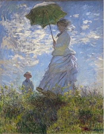 Reprodukcje obrazów Woman with a Parasol - Claude Monet
