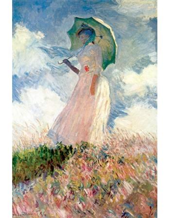 Reprodukcje obrazów Woman with sunshade - Claude Monet