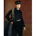 Reprodukcje obrazów Achille De Gas in the Uniform of a Cadet - Edgar Degas