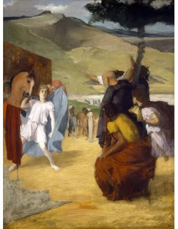Reprodukcje obrazów Alexander and Bucephalus - Edgar Degas