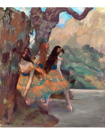Reprodukcje obrazów Ballet Dancers - Edgar Degas