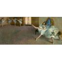 Reprodukcje obrazów Before the Ballet - Edgar Degas