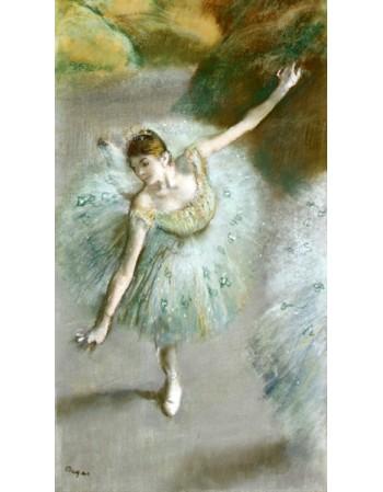 Reprodukcje obrazów Dancer in Green - Edgar Degas