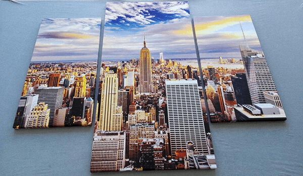 fotoobraz New York obraz na płótnie tryptyk wieloczęściowy