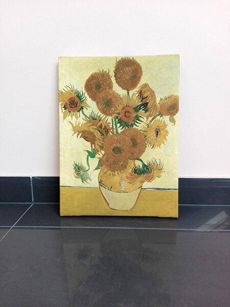 reprodukcje na płótnie fotoobraz Vincent van Gogh słoneczniki