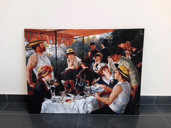 reprodukcje obrazów August Renoir śniadanie wioślarzy