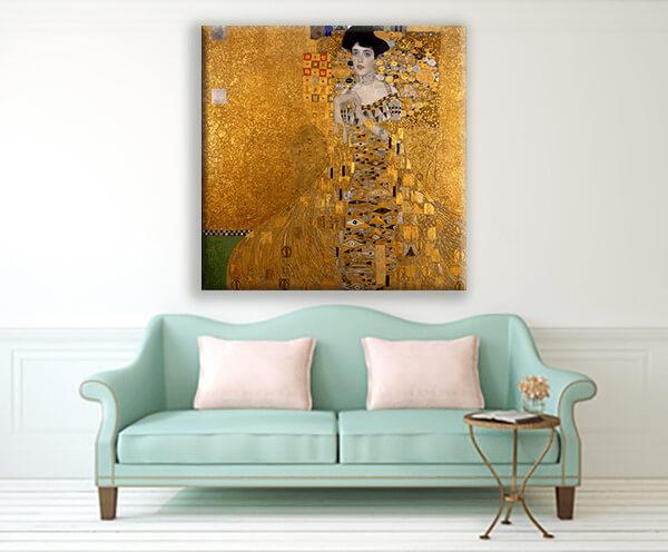 reprodukcje obrazów portret adele bloch bauer gustav klimt