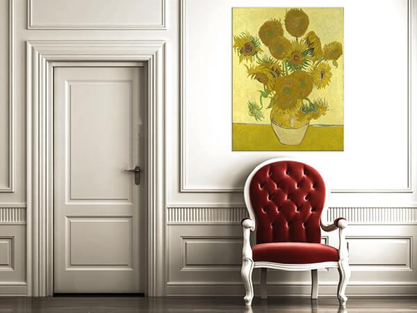 reprodukcje obrazów słoneczniki vincent van gogh